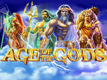 Игровой автомат на деньги Age Of The Gods с призами от Вулкана онлайн