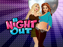 Игровой онлайн слот A Night Out зовет развлекаться и играть до упаду!